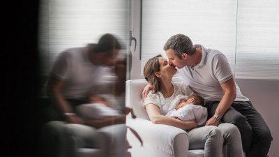 sesion de bebe y newborn en casa